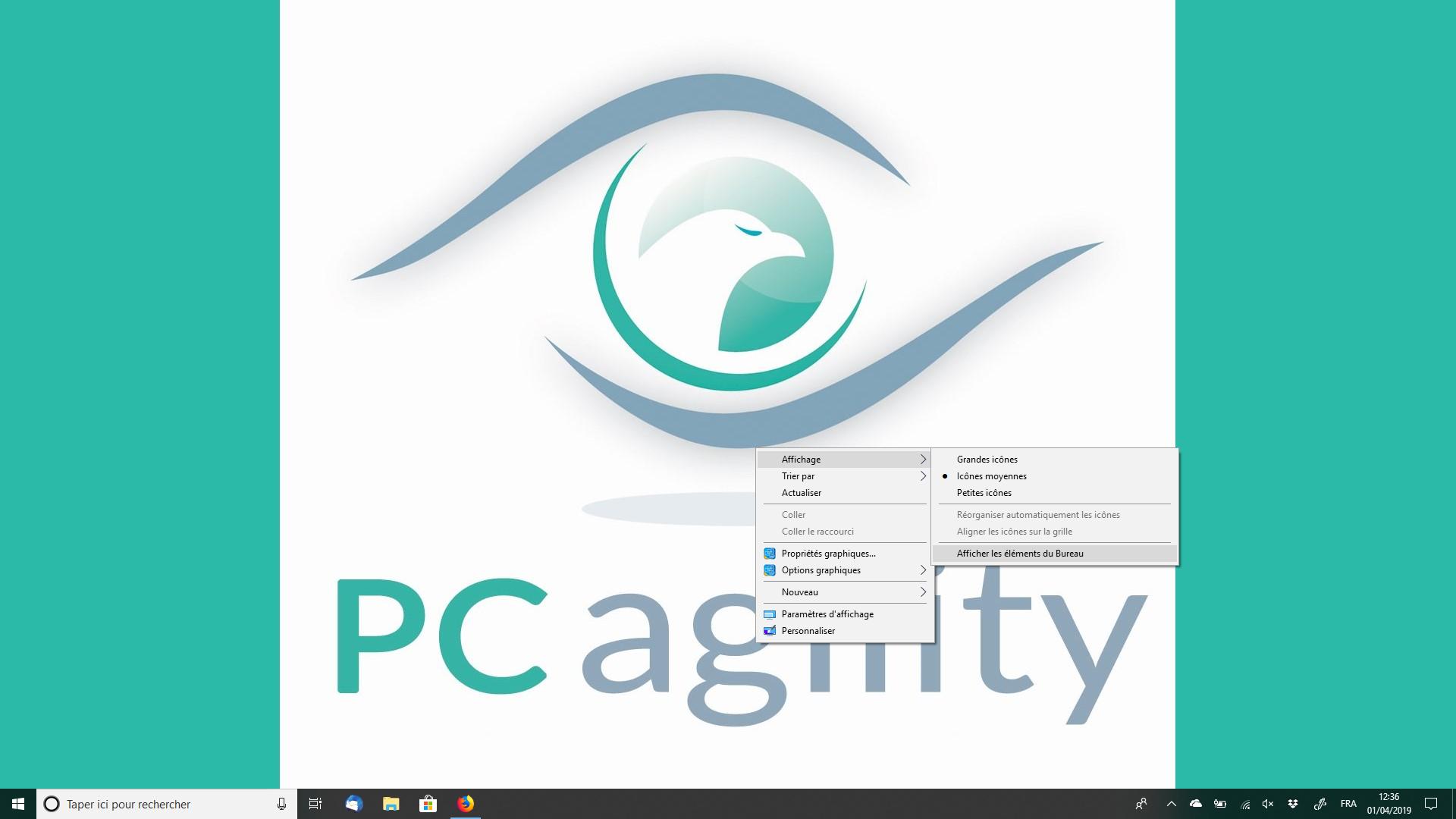 Astuces pratiques PC agility Icones